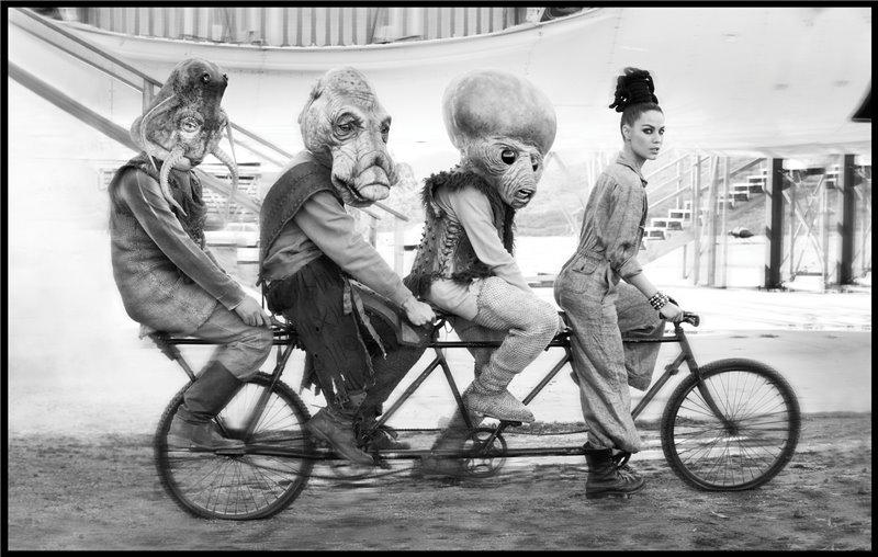Ciclistas raros