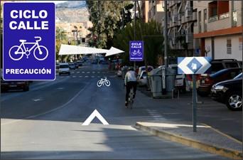 Ciclocalle en Lorca, Murcia