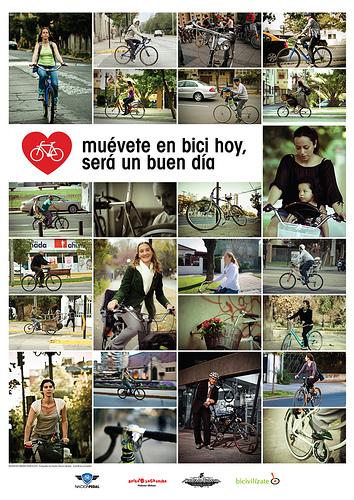 Muévete en bici hoy, será un buen día