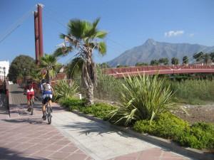 Ruta ciclista Estepona - Marbella - Estepona