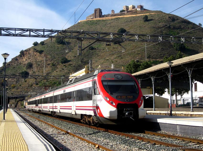 Tren de Cercanías Manilva-Málaga