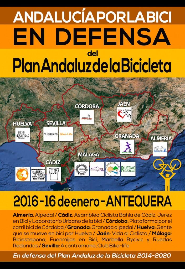 En defensa del Plan Andaluz de la Bicicleta