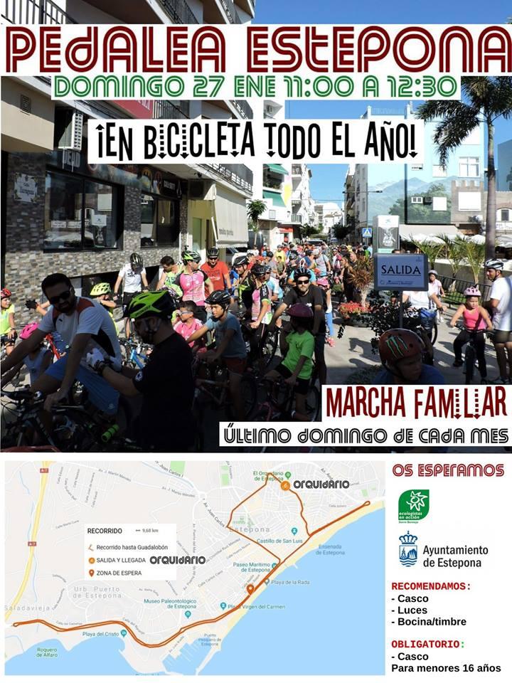 Pedalada Estepona - 27/1/2019
