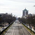 La huelga de taxis reduce el tráfico en Madrid