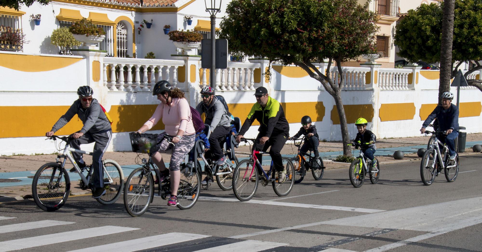Ciclismo urbano en Estepona